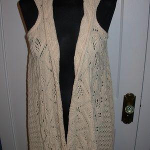 Crochet Hi/ Lo Vest